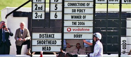 Sir Percy Wins the 2006 Derby